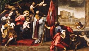 Palma il Giovane, Dedizione di Udine a Venezia, inv. 91, dia 35566